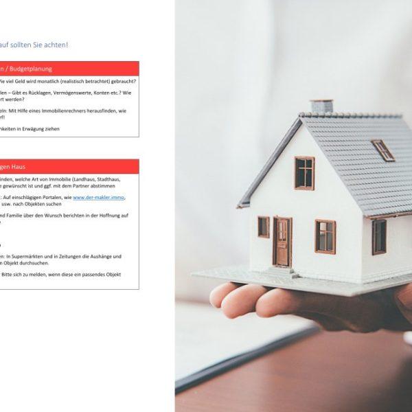 Checkliste Hauskauf - Titelbild der-makler.immo