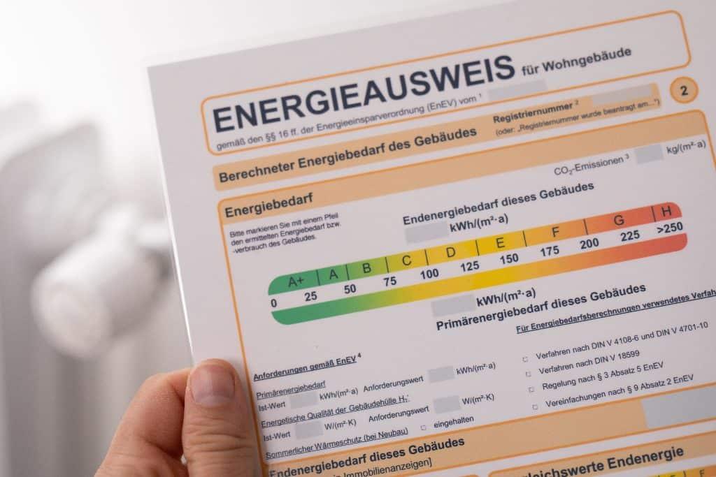 Der Energieausweis – inzwischen gesetzliche Pflicht